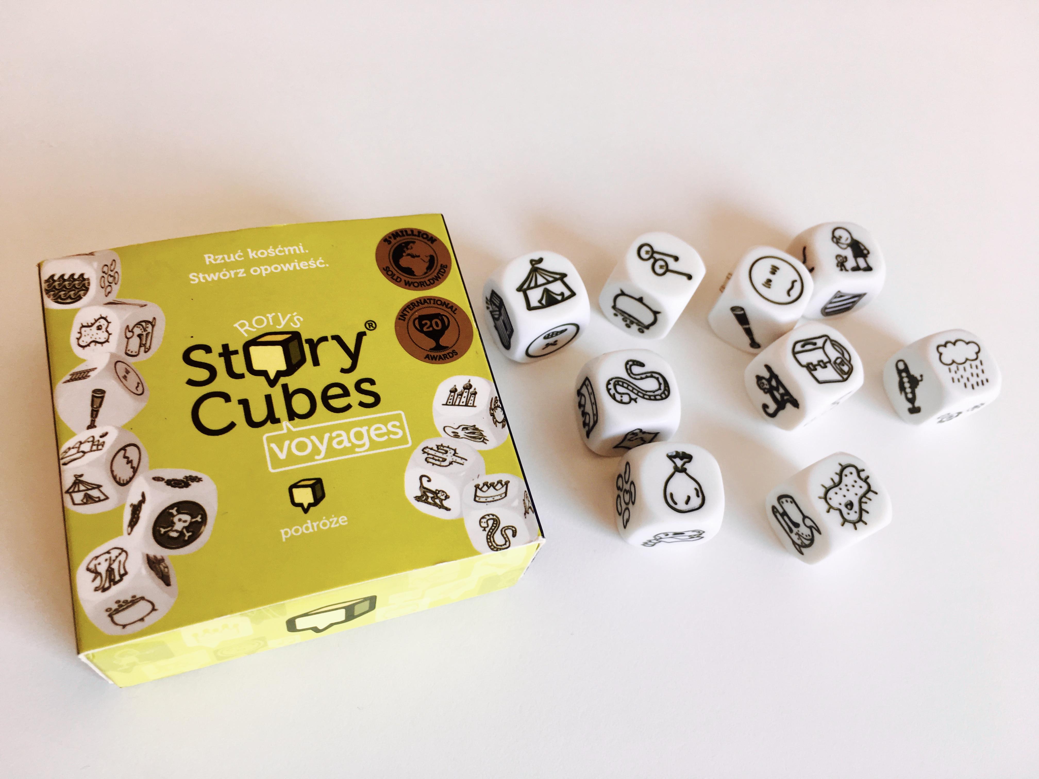 Story Cubes na lekcji angielskiego