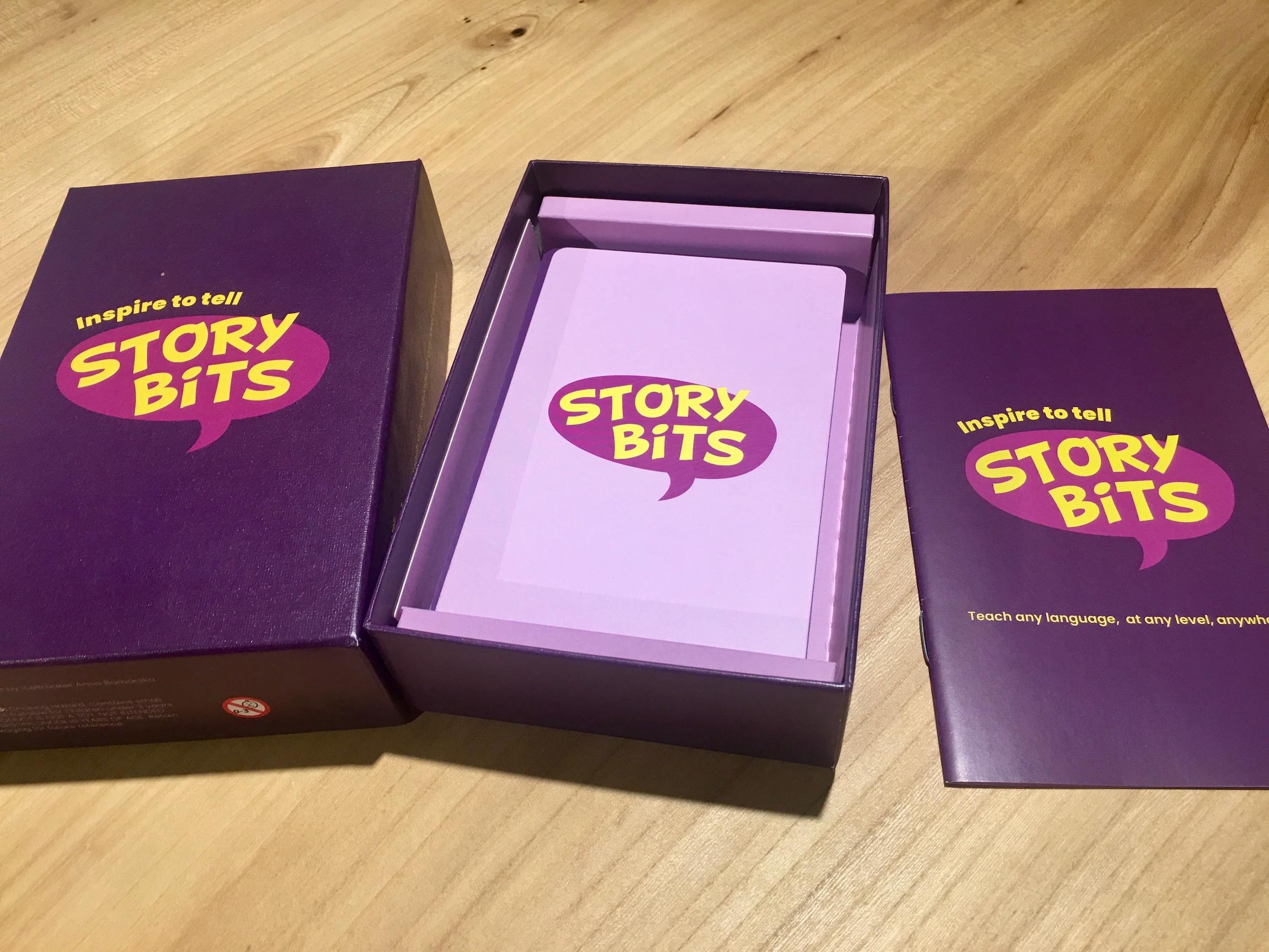 StoryBits - uniwersalne karty don nauki języków