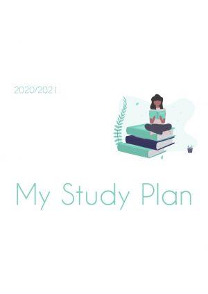 Planer do nauki angielskiego My Study Plan